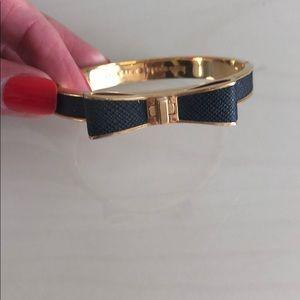 Kate Spade-Black Bow Bracelet
